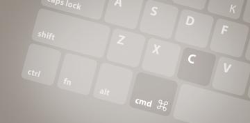 Klávesové zkratky na Macu