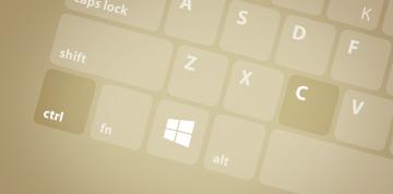 Klávesové zkratky na Windows