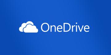 Microsoft OneDrive na webu (2020)