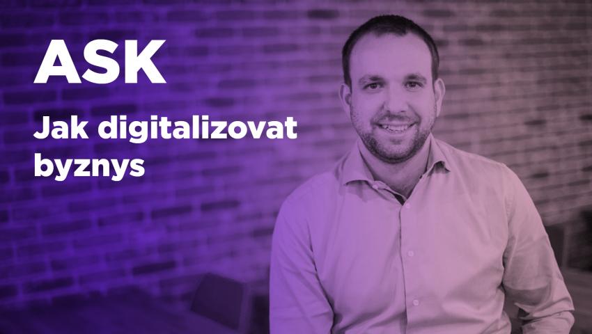Webinář s Filipem Dřímalkou o digitalizaci byznysu