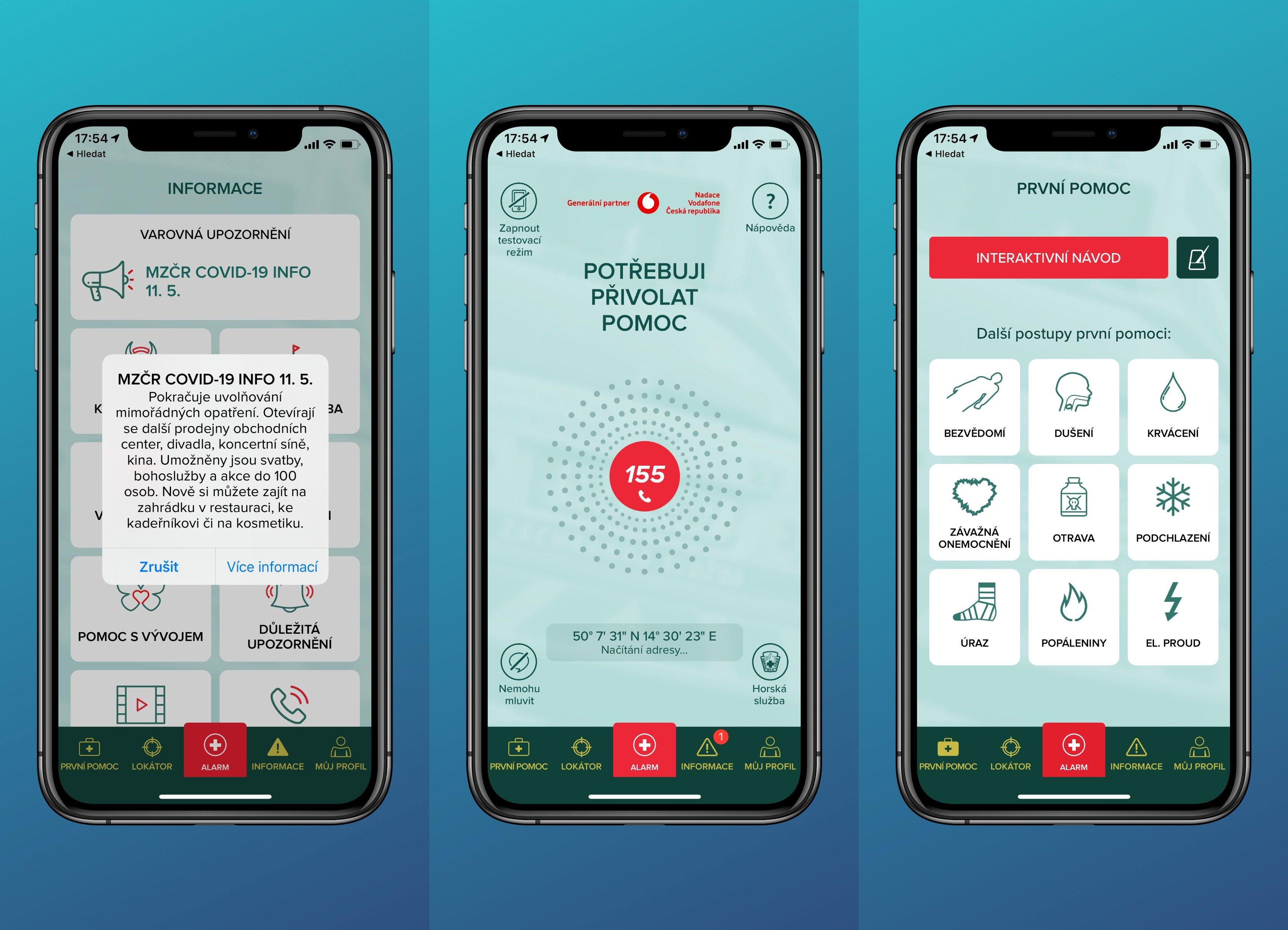 Digiskills: aplikace Záchranka