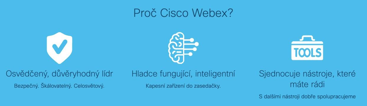 Proč využívat Cisco Webex?