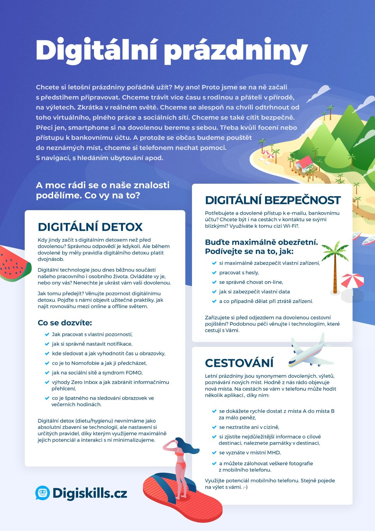 Digitální prázdniny s Digiskills