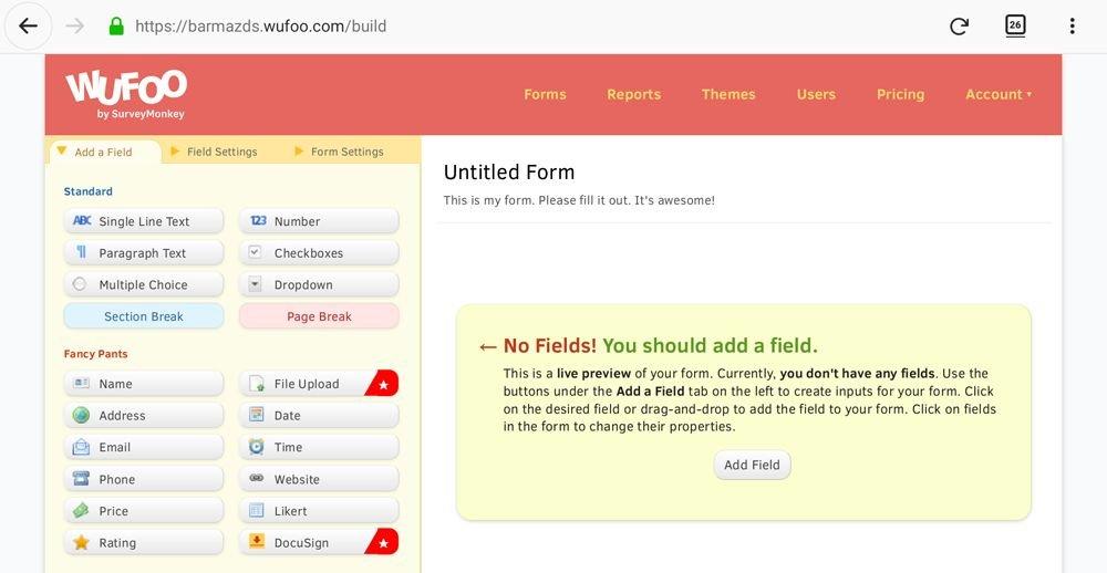 Nejlepší aplikace na online formuláře