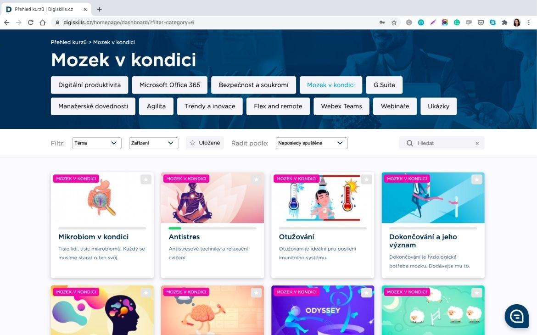 Mozek v kondici | Digiskills.cz