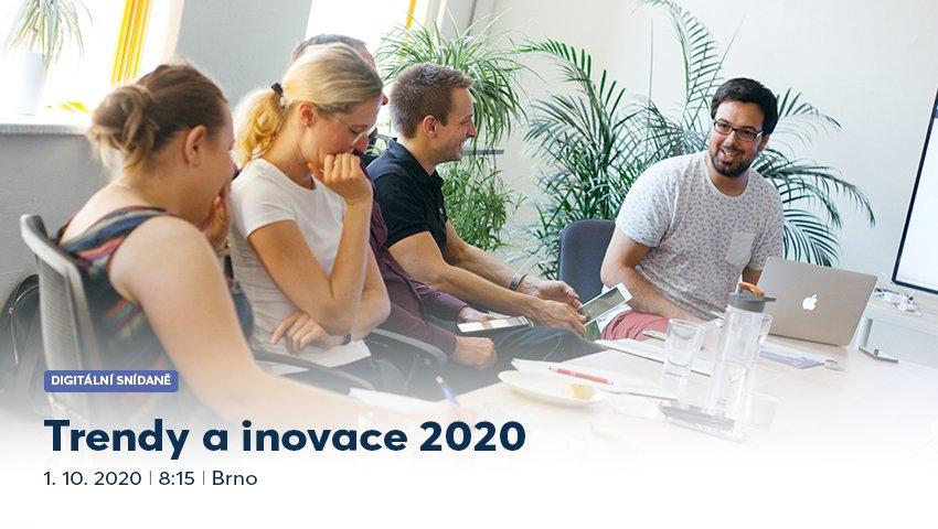 BRNO: Trendy a inovace 2020