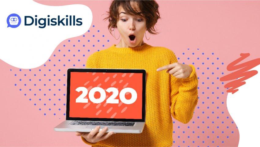 Jak jsme v Digiskills.cz prožili rok 2020? Pojďme se podívat na pár čísel