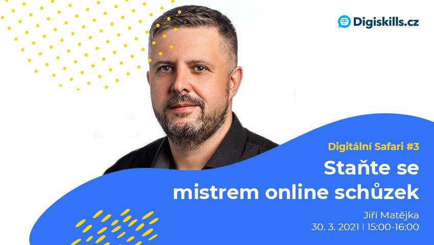 Digitální Safari #3: Staňte se mistrem online schůzek