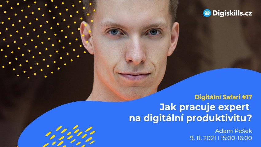 Digitální Safari #17: Jak pracuje expert na digitální produktivitu?